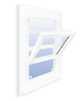 Commercial Vinyl Single Hung Windows thumbnail