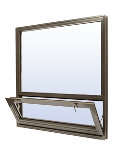 Commercial Aluminium Hopper Windows