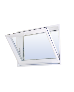 Commercial Vinyl Hopper Windows