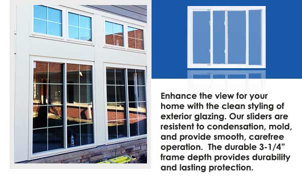 Residential Vinyl Slider Windows