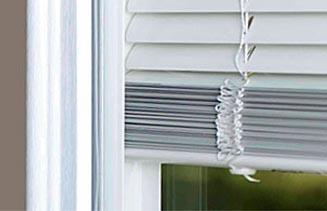 Vinyl Sliding Doors No Dusting (blinds between glass)