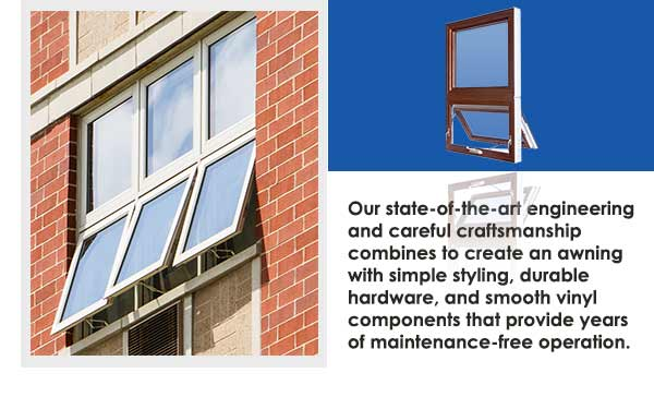 Commercial Vinyl Awning Windows Slide One