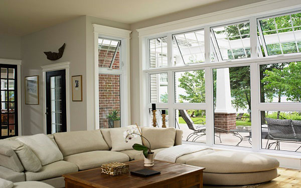 Residential Vinyl Awning Windows Image 2