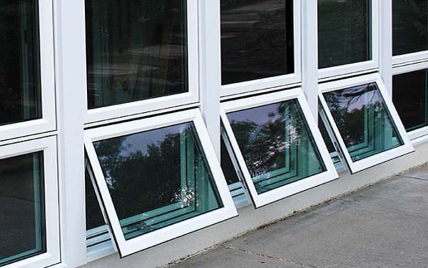 Residential Vinyl Awning Windows Image