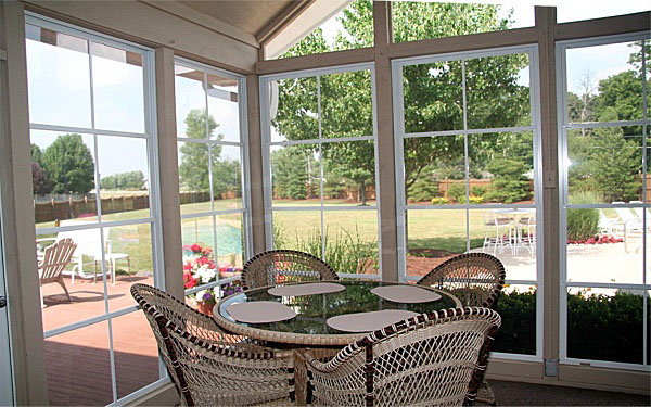 Residential Vinyl Picture Windows Image