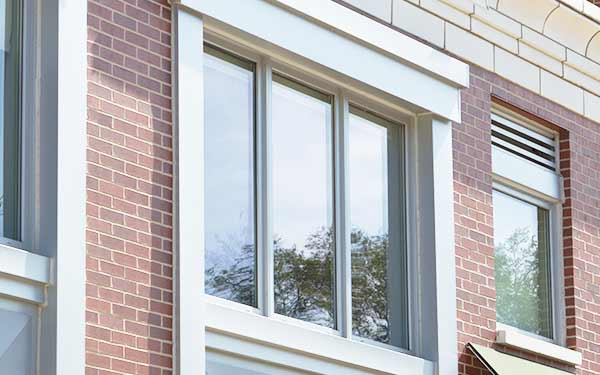 Commercial Vinyl Tilt Turn Windows Slide Three