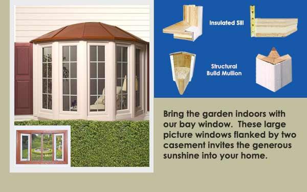 Residential Vinyl Bow Windows Bow Slider One