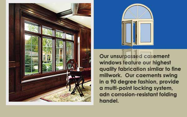 Residential Vinyl Casement Windows Slider Image One