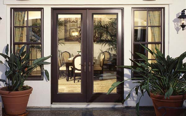 Vinyl Swinging Doors Image 1
