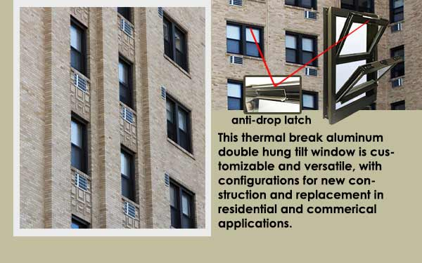 Residential Aluminum Double Hung Windows Featured Slider One