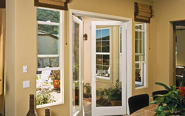 Residential Vinyl Swing Door Slide One
