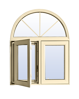 Commercial Vinyl Casement Windows