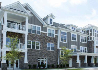 Reserve Apartment Complex Project Windows